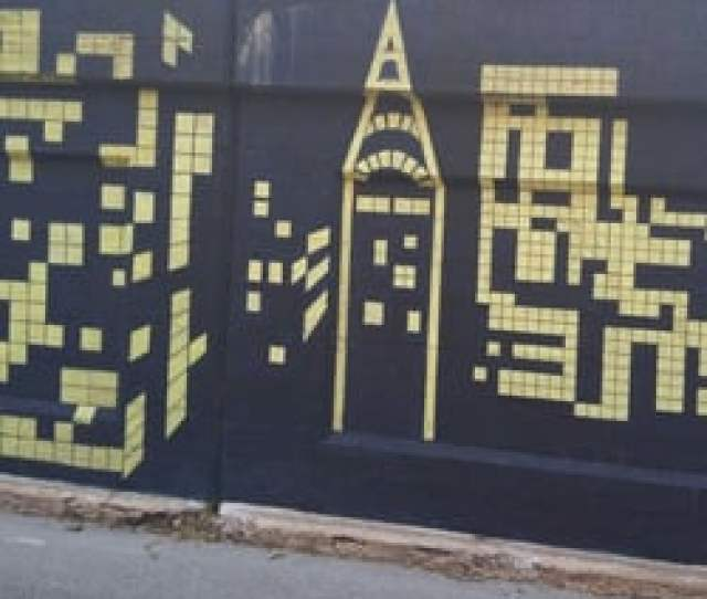 Photo Of Mile Of Murals Chicago Il United States Pixelated Perfection