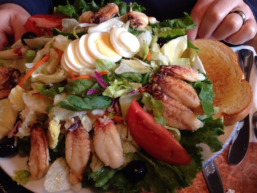 Norma's Seafood & Steak - Seaside, OR, United States. 12 large chunks of fresh crab on the crab Louis.
