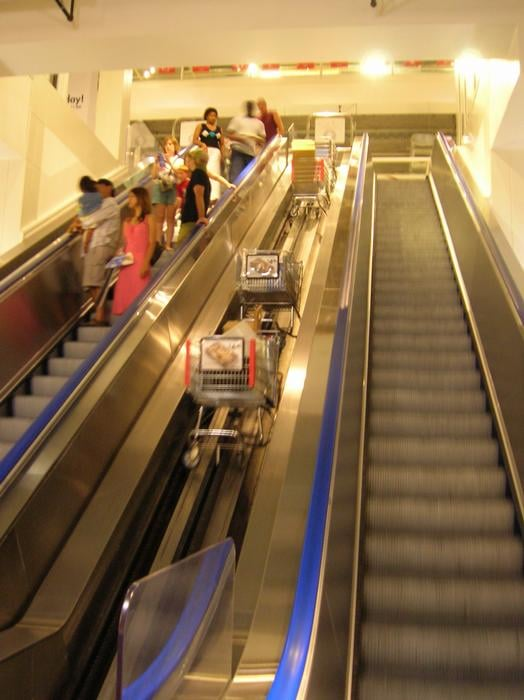 Theyve Got An Escalator For Your Carts Yelp