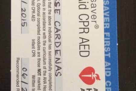 Único Cpr First Aid Certification Chicago Colección - Cómo conseguir ...