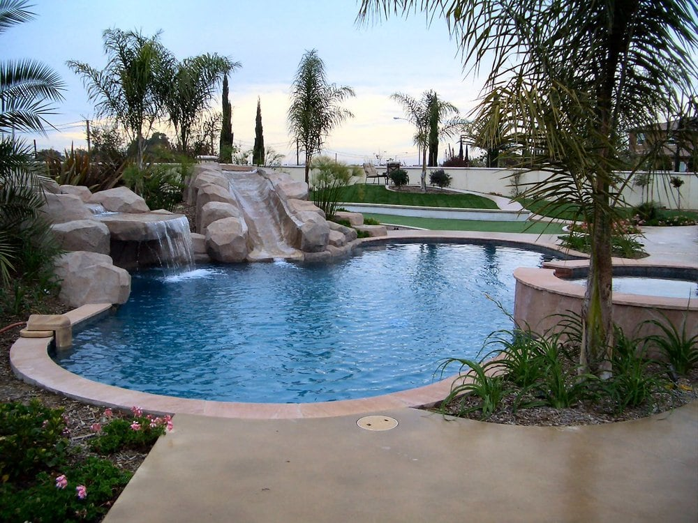 Pool, BBQ, Spa, Outdoor Living Space Design - Yelp on Outdoor Living Spa  id=96255