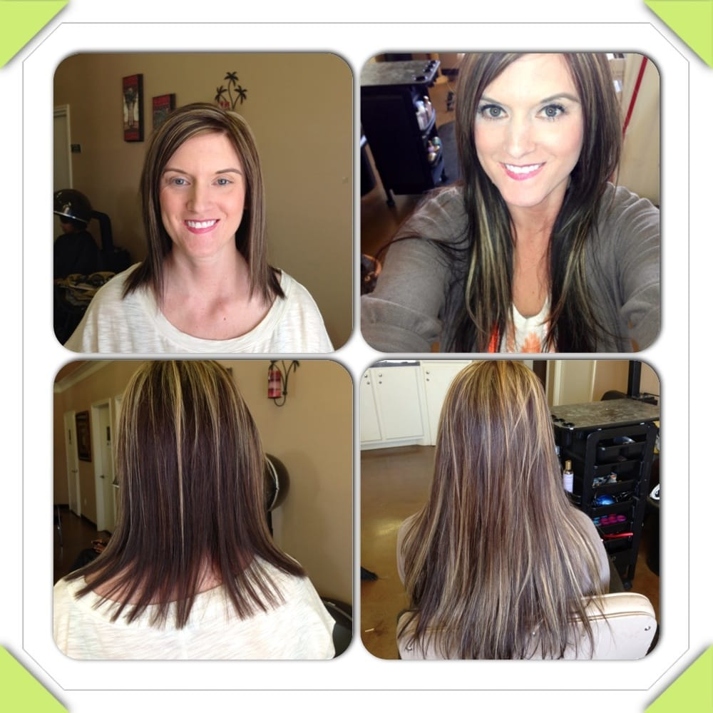 Hotheads Hair Extensions Before And After Hairstly