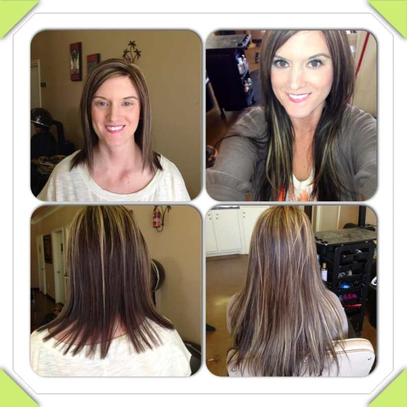 Gambar Hot Heads Hair Extension Before And After By Jacky
