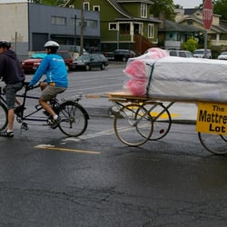 Photo Of Mattress Lot Portland Or United States Bike Delivery Important