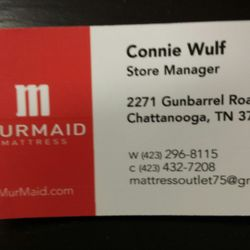 Photo Of Murmaid Mattress Chattanooga Tn United States Connie Business Card