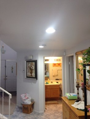 Hallway Replace Existing Light Fixture with  2  6  Recessed Lighting     Photo of Simply Lights and Fans   Orange  CA  United States  Hallway