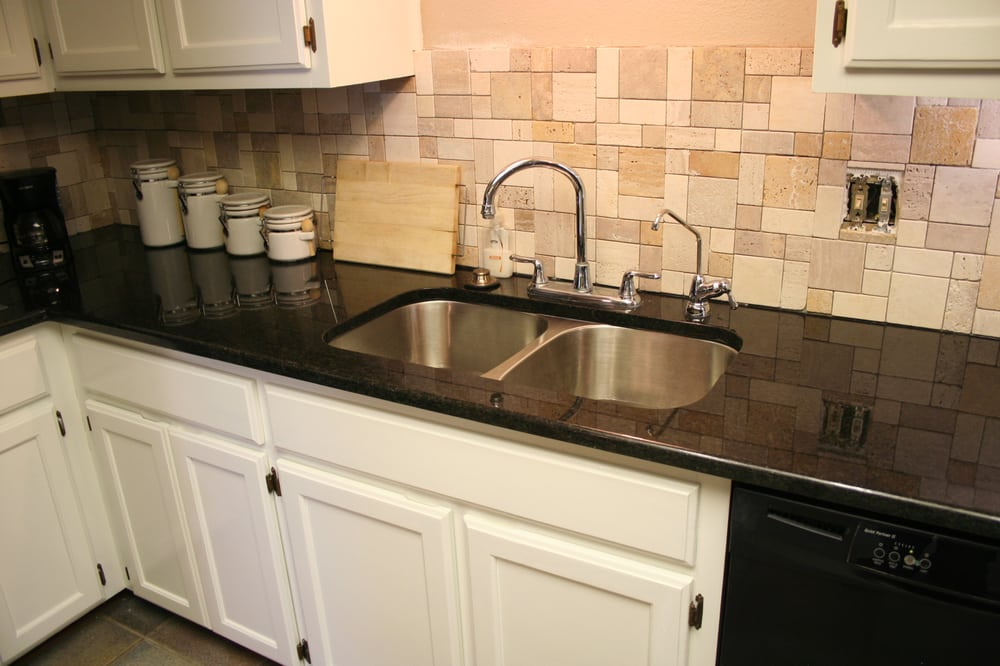 Black Pearl Granite Backsplash - Yelp on Black Granite Backsplash  id=35295