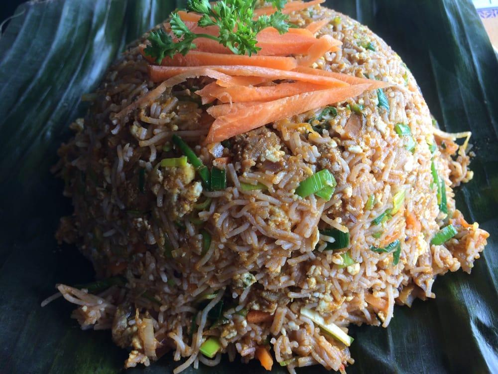 Photo of Spicy Lanka - Jamaica, NY, United States. String Hopper (Idiyappam) Kothu with beef