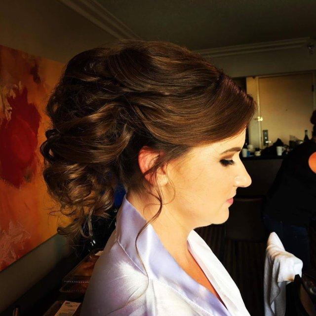 wedding hair and makeup 6/9/17 - yelp