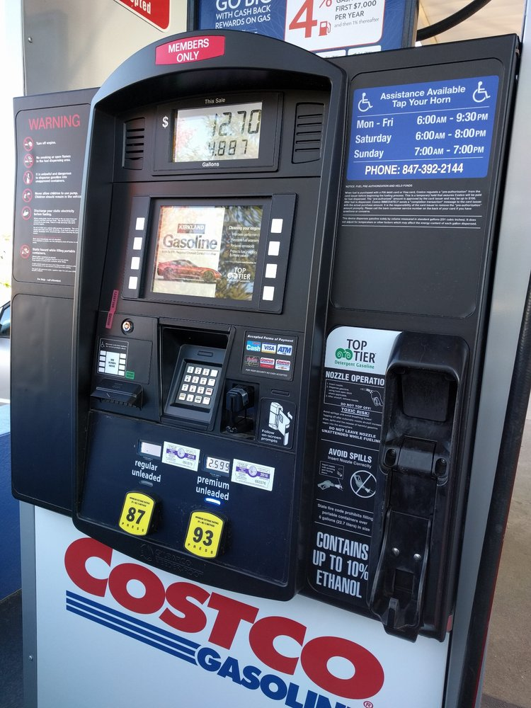 Costco Gas - Gas Stations - 999 N Elmhurst Rd, Mount ... on Costco Number id=18427