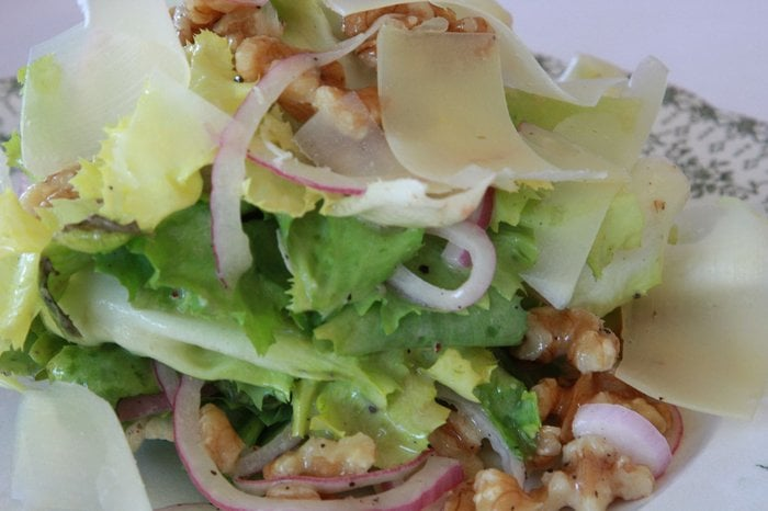 Image result for Escarole Salad With Walnuts and Parmesan