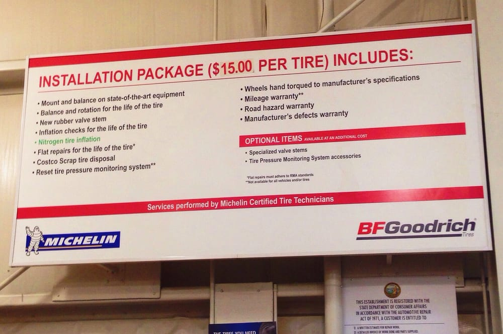 Costco Tire Center - 48 Reviews - Tires - 4801 Central Ave ... on Costco Number id=72266