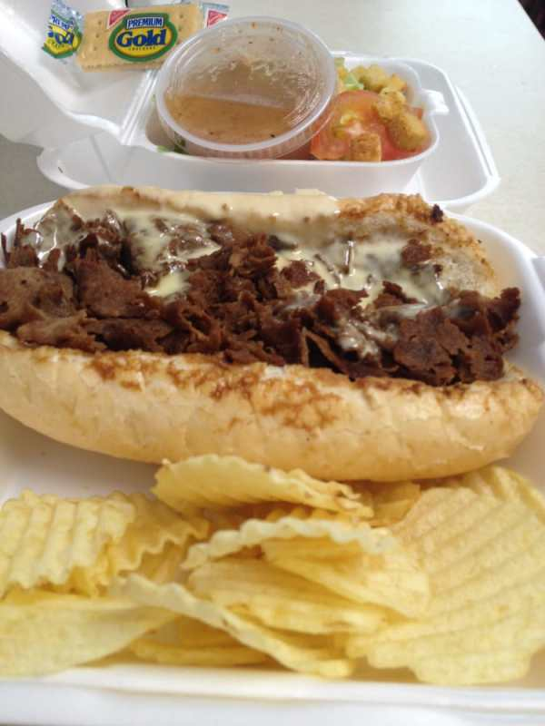 $6 Tummy Tickler special: Cheesesteak without onions ...