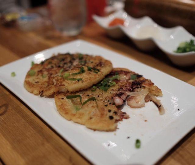 Photo Of Umamiya Shabu Shabu Honolulu Hi United States Seafood Pancake