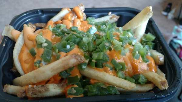 Ghost Pepper Fries. I wish these were a permanent menu ...