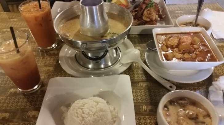 Thai Corner Kitchen Anaheim United States Lunch