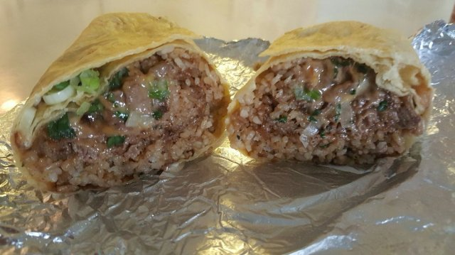 Image result for teriyaki cheesesteak burrito