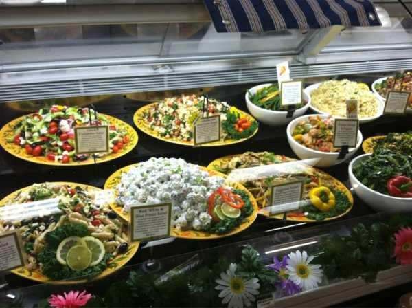 Beautiful display of prepared foods summer salads - Yelp