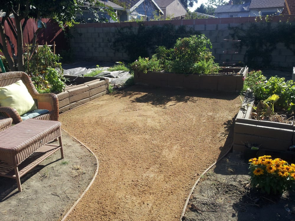 "Decomposed Granite ""DG"" Pathway Installation. - Yelp on Decomposed Granite Backyard Ideas id=54272"