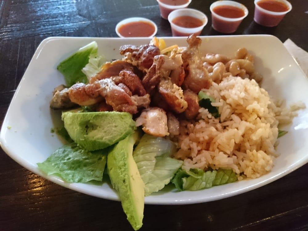 Taco Bowl With Pollo Asado Yelp