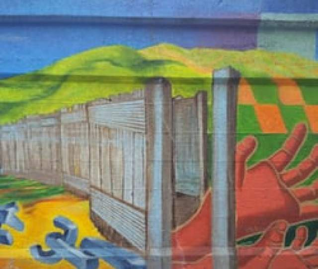 Photo Of Mile Of Murals Chicago Il United States