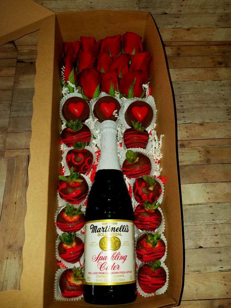 Anytime Gift Box 1dz Of Chocolate Covered Strawberries 3