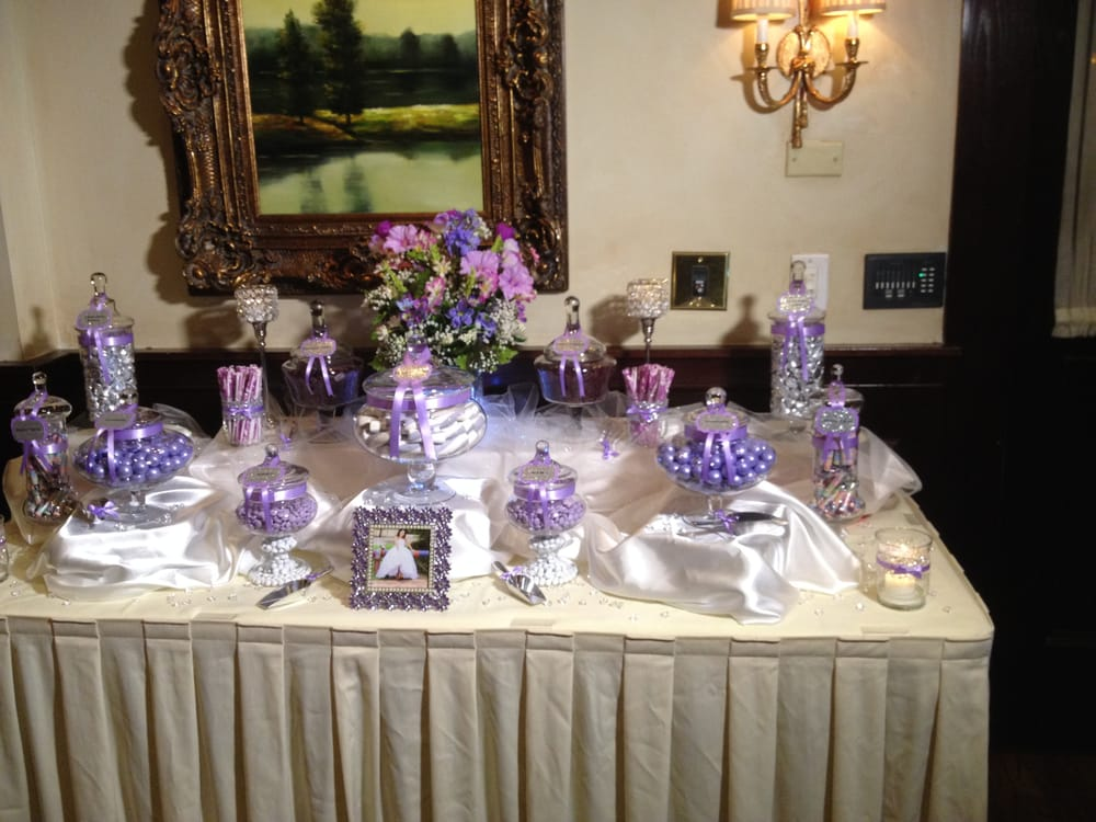 Lavender Amp Silver Sweet 16 Candy Buffet Yelp