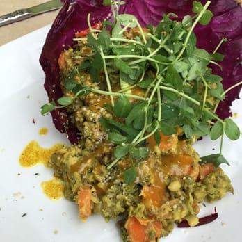 Ezra's Enlightened Cafe - Indianapolis, IN, United States. Thai Mung Bean Salad