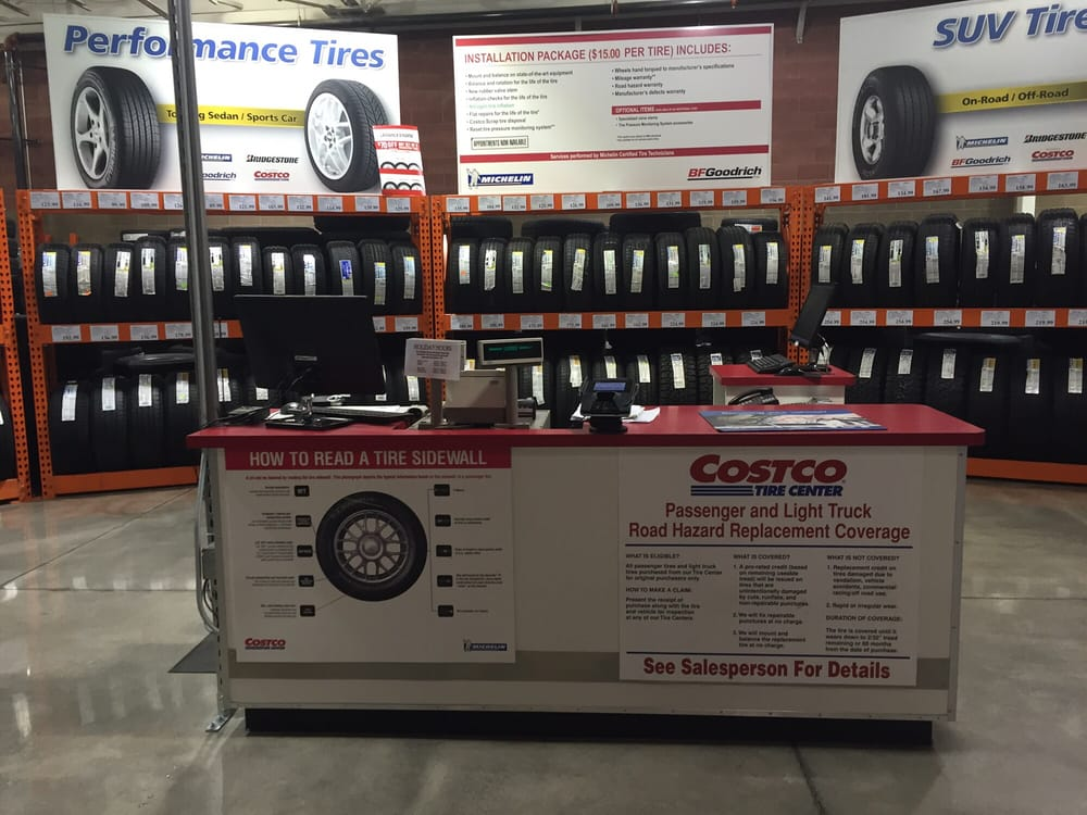 Costco Tire Department - Tires - 4810 Galleria Pkwy ... on Costco Number id=12465