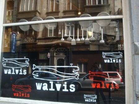 Walvis restaurant Brussels Belgium