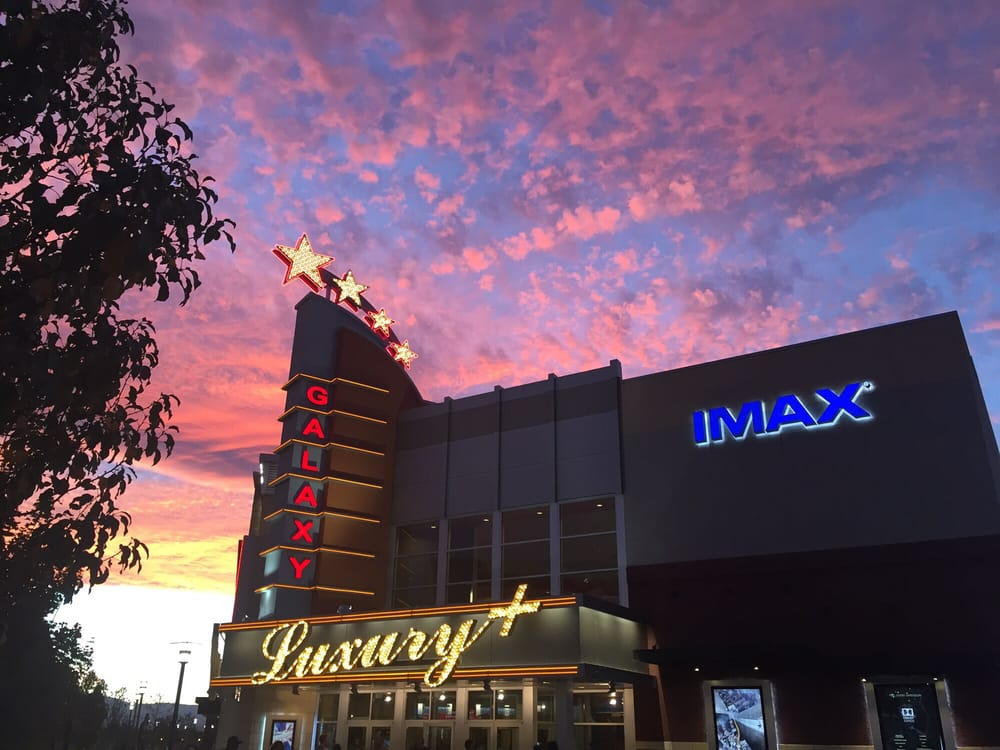 Galaxy Luxury+ IMAX Legends - Sparks, NV, United States. Awesome sunset walking up to the IMAX! Had to snap a photo