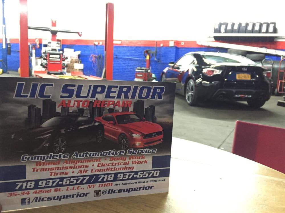 Lic Superior Auto Repair Body Shops Astoria Long