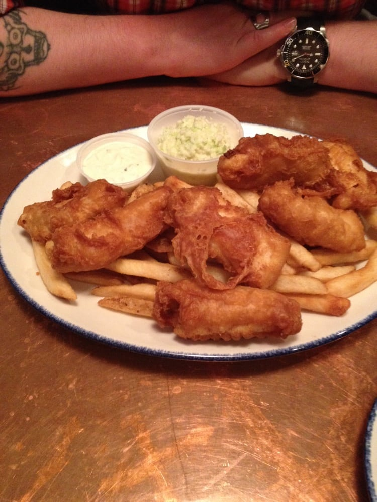 Norma's Seafood & Steak - Seaside, OR, United States. Halibut fish and chips.