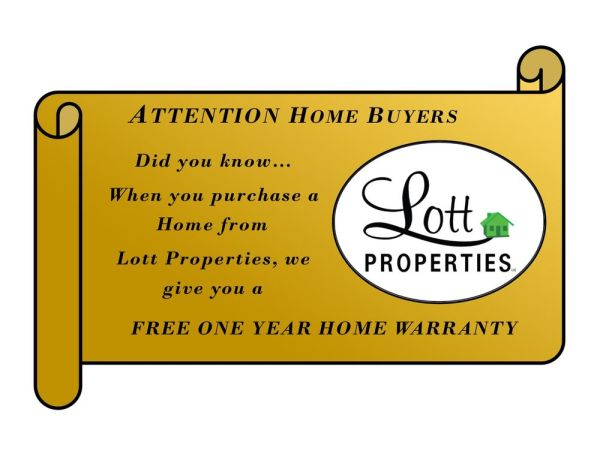 Bonus... Free One Year Home Warranty. When you buy a home ...