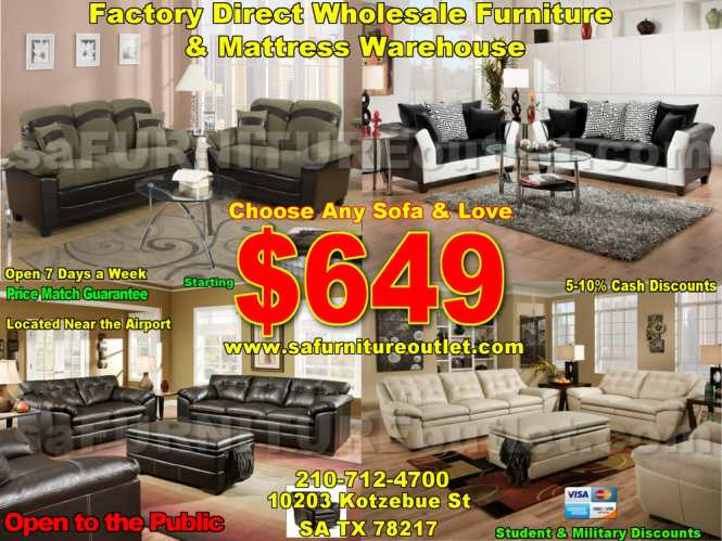 Sa Furniture Outlet 10 Photos S 10203 Kotzebue St San Antonio Tx Phone Number Yelp