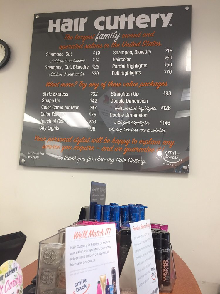How Much Does A Haircut Cost At Hair Cuttery Zieview