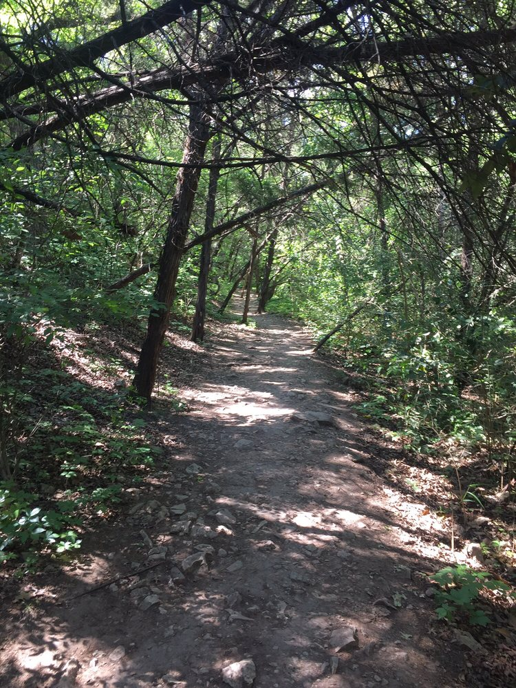 One of the trails you will find when hiking in Austin