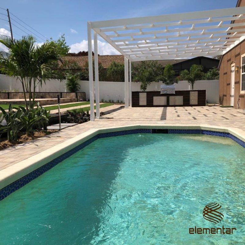 Pergola, Pool, Pavers, Turf Installation - Yelp on Elementar Outdoor Living id=14630