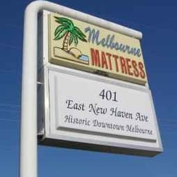 Photo Of Melbourne Mattress Fl United States Our Sign Out Front
