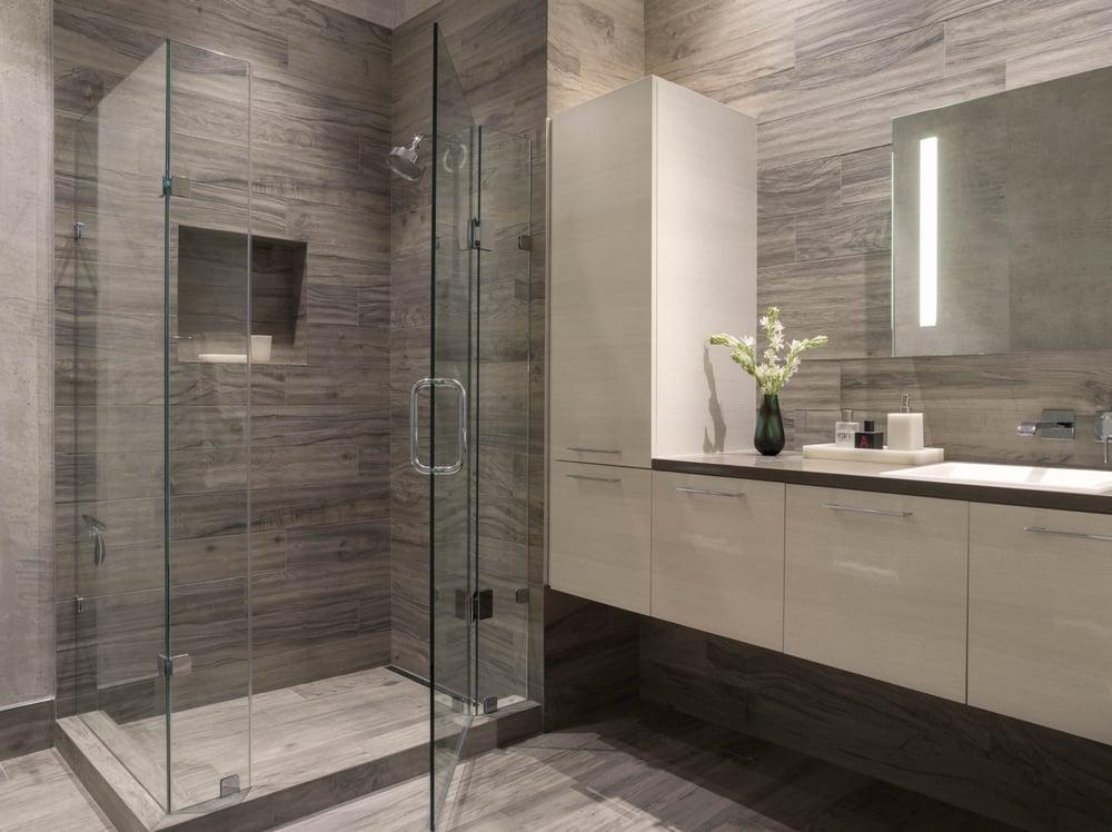 Townsend Modern Bathroom, San Francisco, CA, gray, white ...