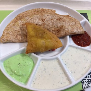 Image result for chapati and samosa