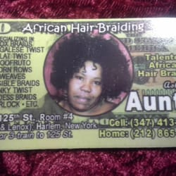 Aunty At African Hair Braiding Hair Extensions 35 W