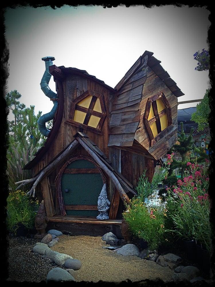Custom built Whimsical garden sheds! - Yelp on Whimsical Backyard Ideas id=77446