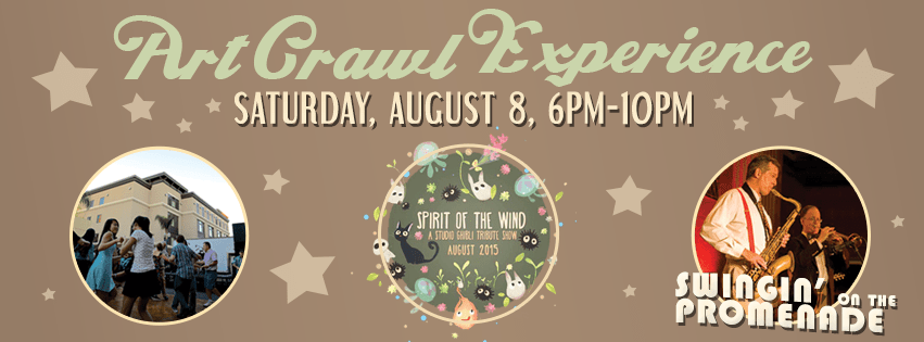 Art Crawl Experience - Swinin' on the Promenade!
