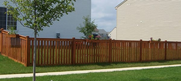 Red Cedar Fence Stain