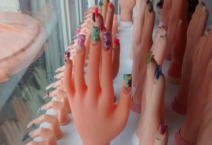 Uñas Decoradas Gelish Pedicura Estetica Tienda De Regalos Yelp