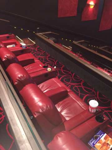 About to watch a movie and the theater is a mess    Yelp Photo of AMC Irving Mall 14   Irving  TX  United States  About to