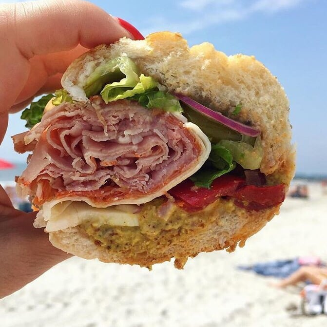 Image result for beach sandwiches