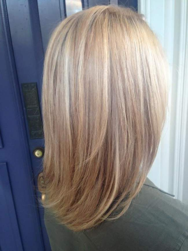 Ash Blonde With Highlights And Lowlights