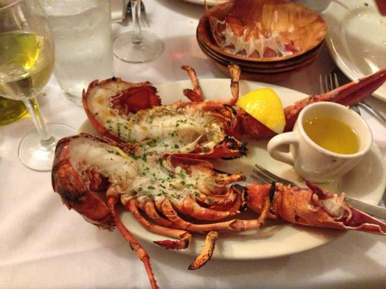 Scales & Shells - Newport, RI, United States. Grilled lobster
